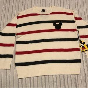 F21 Disney Striped Sweater